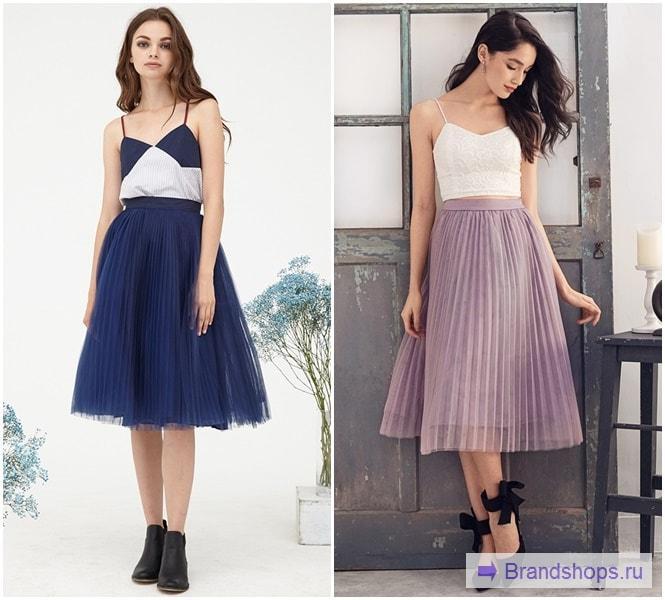 3b63c4ab9ce С чем носить плиссированную юбку – 111 фото модных образов ...