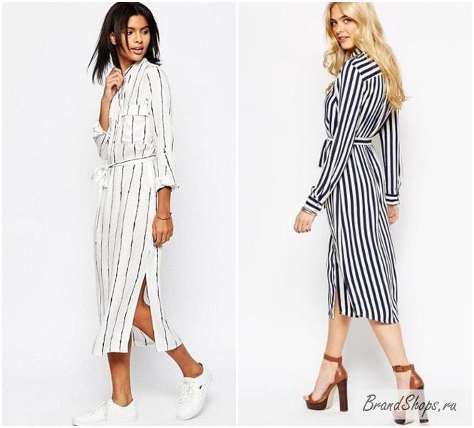 bcf6e165c699e91 Платье-рубашка - 214 фото новинок 2018 года, фасоны и цвета ...