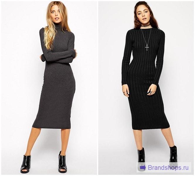Платье-лапша 2018 года - с чем носить длинное, короткое и миди  85 ... 1bff326b58e